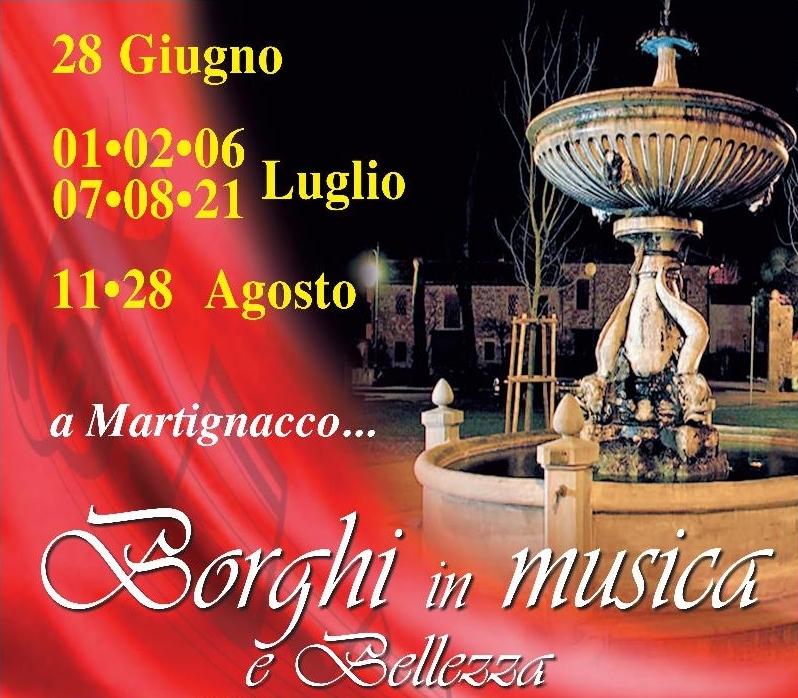 Borghi In Musica e bellezza 2016