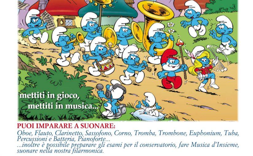 Corsi Musicali a Nogaredo di Prato, Martignacco e Moruzzo
