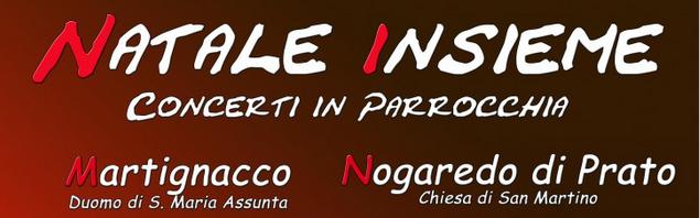 NATALE INSIEME e Concerto Pop Rock a Martignacco