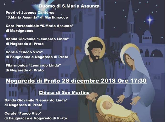 Concerti di Natale – Natale Insieme 2018